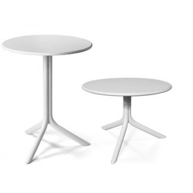 Стол Step+Step mini Bianco (столешница + две базы)