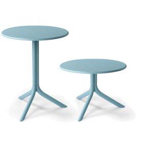 Комплект столов Step+Step mini Celeste (столешница + две базы)