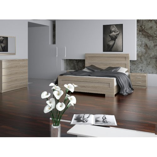 Спальный гарнитур Кармен дуб сонома