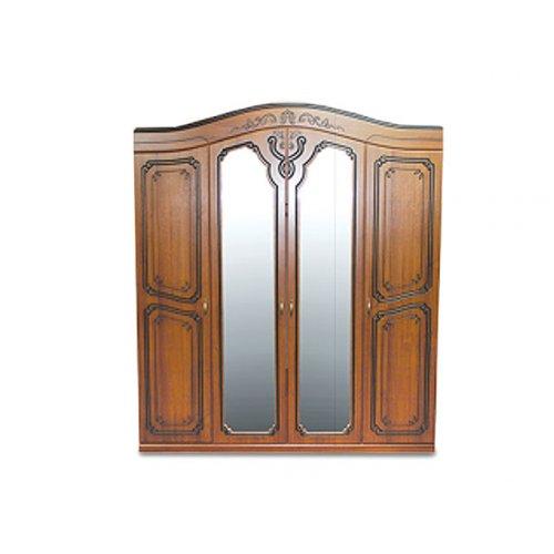 Шкаф 4-х дверный Альба