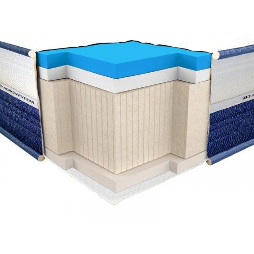 Ортопедический матрас ViscoGel Dual Comfort 90х200