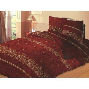 Двуспальный комплект постельного белья Бордо (бязь)