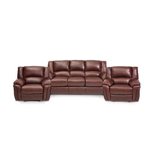 Комплект кожаной мебели Милан