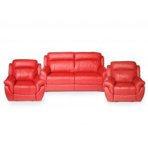 Комплект кожаной мебели Соренто