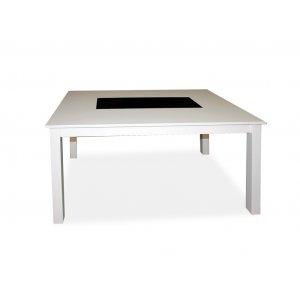 Обеденный стол с гранитной вставкой