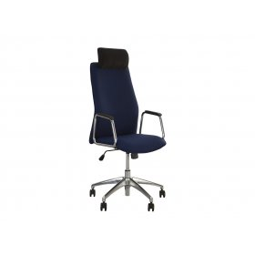 Кресло руководителя SOLO HR steel SL AL33