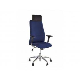 Кресло руководителя SOLO R HR steel SL AL33