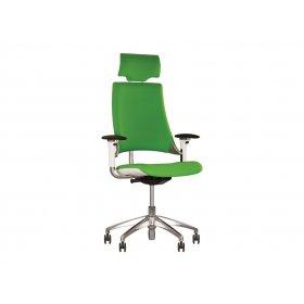 Кресло руководителя HIP HOP R HR WHITE AL33
