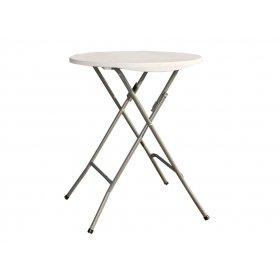 Стол пластиковый складной белый PLTBY-6102
