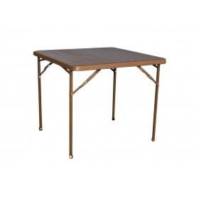 Стол PLTR - 8602 ротанг коричневый