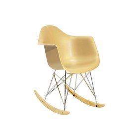 Кресло-качалка Leon белый 07