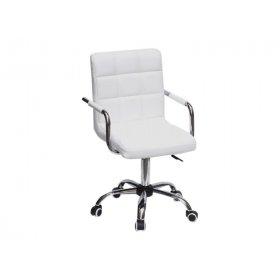 Кресло Augusto-ARM CH - Office экокожа черный