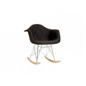 Кресло-качалка Leon Soft Rack Вискоза антрацит K 8