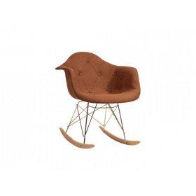 Кресло-качалка Leon Soft Rack Вискоза коричневый K 10