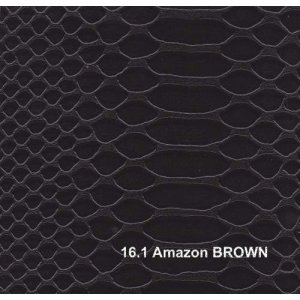 Кожзам Amazon brown