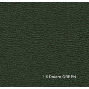 Кожзам Dolero green