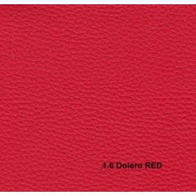 Кожзам Dolero red