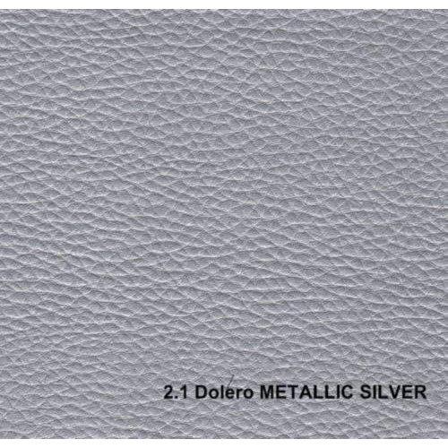 Кожзам Dolero silver1