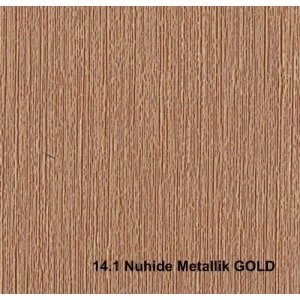 Кожзам Nuhide metallk gold