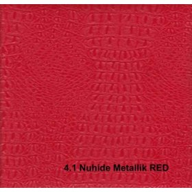 Кожзам Nuhide metallk red