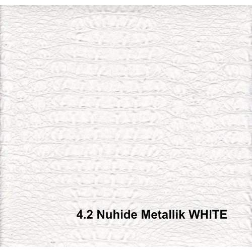Кожзам Nuhide metallk white