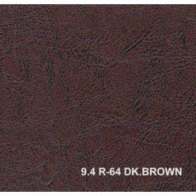 Кожзам R-64 dk brown