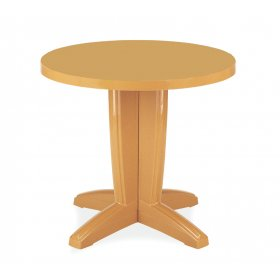 Пластиковый стол Браво D80 тик
