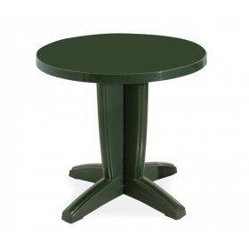 Пластиковый стол Браво D80 зеленый