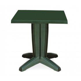 Пластиковый стол Браво 70х70 зеленый