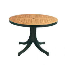 Пластиковый стол Дива D105 зеленый