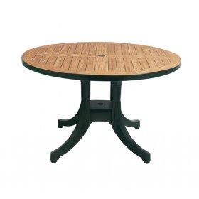 Пластиковый стол Дива D120 зеленый