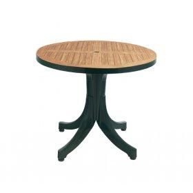 Пластиковый стол Дива D90 зеленый