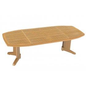 Пластиковый стол Магнум 115х255 тик