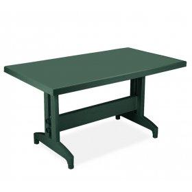 Пластиковый стол Престиж 80х140 зеленый
