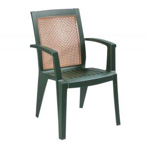 Кресло Сапфир зеленое