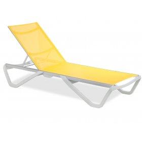 Шезлонг Wave желтый