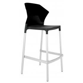 Барный стул Ego-S черный