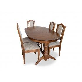 Комплект стол Гостиный раскладной + 5 стульев Классик