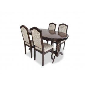 Комплект стол Гостиный раскладной + 4 стула Премьер