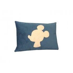 Декоративная подушка синяя Микки Маус