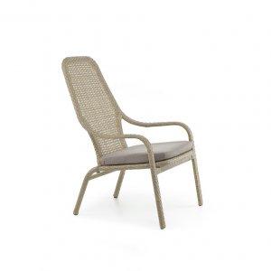 Кресло Лэйзи 68х85х105х40 ротанг