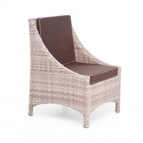 Кресло Глэм 60x62х90х36 ротанг