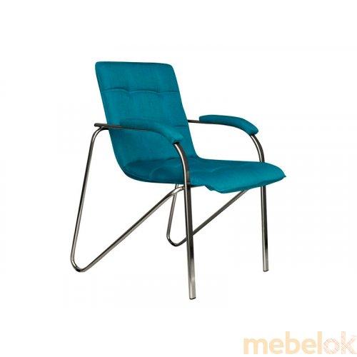 стул с видом в обстановке (Кресло STELLA CHROME)