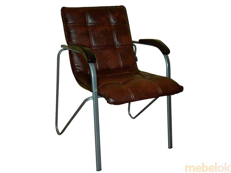 Кресло STELLA WOOD ALUM от фабрики Primtex