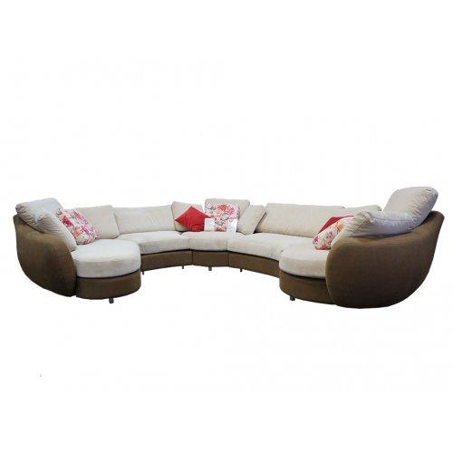 Угловой диван Infiniti микровелюр