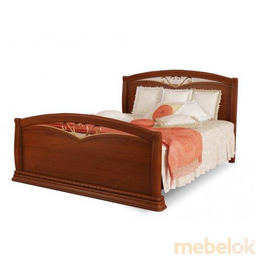 Кровать Омега Люкс с изножьем 180х200