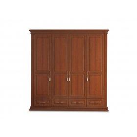 Шкаф четырехдверный Омега Люкс