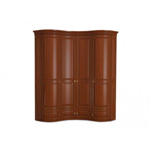 Шкаф угловой четырехдверный Омега