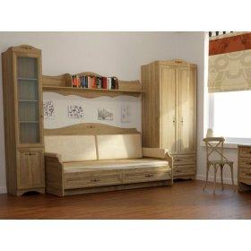 Спальня Джентел-1 дуб сонома