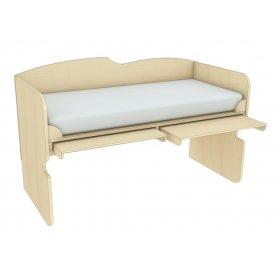Кровать-чердак со столом Планета Луна КЧС 1-92 90х200